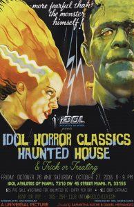 IDOL Horror Classics Haunted House @ IDOL Cheer & Dance | Miami | Florida | United States